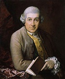 Fig.3:  Portrait of David Garrick by Thomas Gainsborough 1770