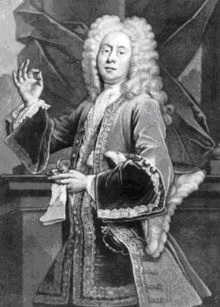Colley Cibber as Lord Foppington