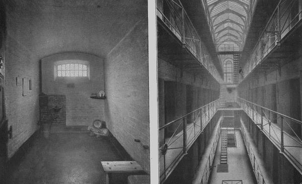 Newgate - cell and galleries