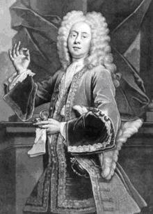 Colley Cibber as Lord Foppington